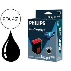 INK-JET PHILIPS PARA FAX 325/355/375 NEGRO DURACION 500 PAGINAS