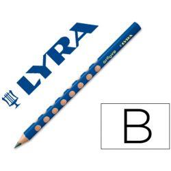 LAPICES DE GRAFITO LYRA GROOVETRIANGULAR MINA B DE 4,25 MM