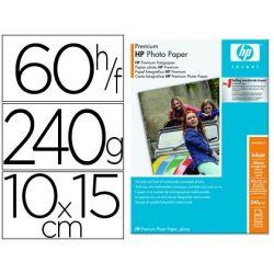 PAPEL FOTOGRAFICO HP PREMIUN 10X15 240G/M2 RESISTENTE