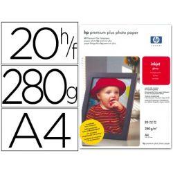 PAPEL HP FOTOGRAFICO PREMIUM PLUS A4 (20H) 300GR/M2 CR672A