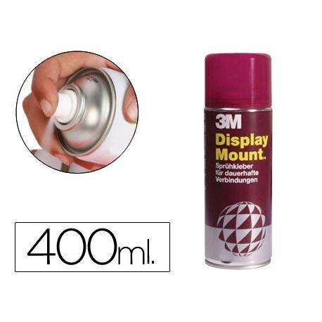 PEGAMENTO SCOTCH SPRAY DISPLAY MOUNT 400 ML ADHESIVO PERMANENTE