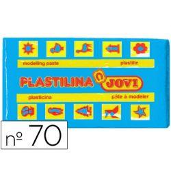 PLASTILINA JOVI 70 AZUL CLARO -UNIDAD -TAMA¾O PEQUE¾O