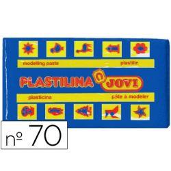 PLASTILINA JOVI 70 AZUL OSCURO -UNIDAD TAMA¾O PEQUE¾O