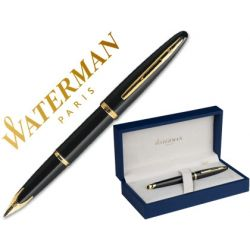 PLUMA WATERMAN CARENE LACA NEGRA
