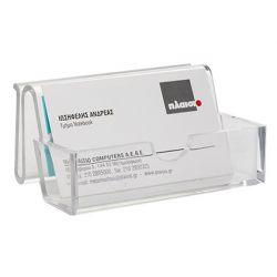 PORTATARJETAS DE VISITA Q-CONNECT METACRILATO REF.5770