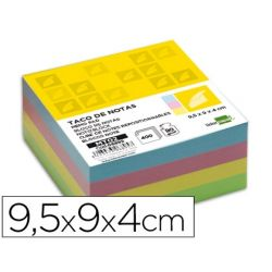 RECAMBIO LIDERPAPEL MULTITACO COLORES TAMA¾O 95X90X40 MM
