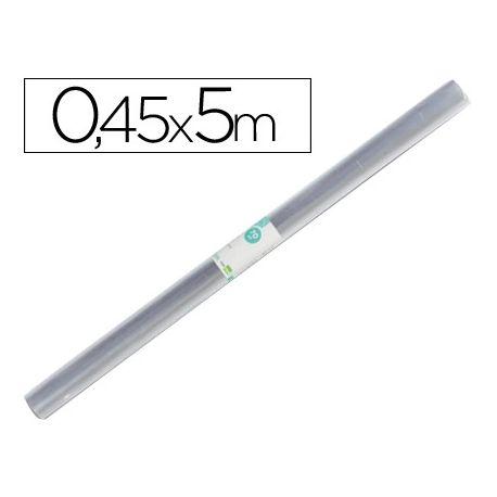 ROLLO PLASTICO FORRALIBROS 0,45X5 MT LIDERPAPEL