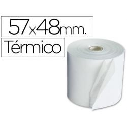 ROLLO SUMADORA TERMICO 57 MM ANCHO X 48 MM DIAMETRO