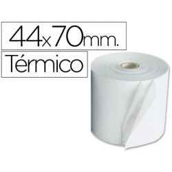 ROLLO SUMADORA TERMICO Q-CONNECT 44 MM ANCHO X 70 MM DIAMETRO