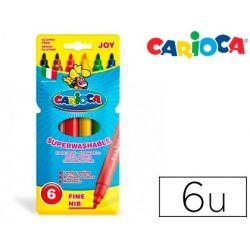 ROTULADOR CARIOCA JOY CAJA DE 6 COLORES