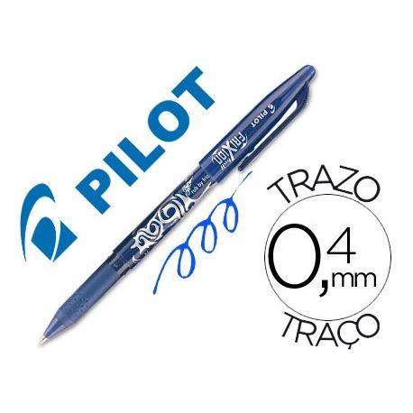 BOLIGRAFO PILOT FRIXION AZUL