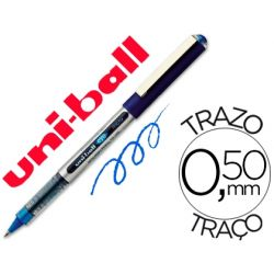 ROTULADOR UNI-BALL ROLLER UB-150 MICRO EYE AZUL 0.5 MM -UNIDAD