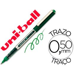 ROTULADOR UNI-BALL ROLLER UB-150 MICRO EYE VERDE 0,5 MM -UNIDAD