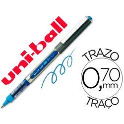 ROTULADOR UNI-BALL ROLLER UB-157 AZUL CLARO 0,7 MM -UNIDAD