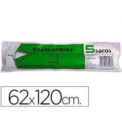 SACO GUARDARROPA GALGA 100 62X120 CM -ROLLO DE 5 SACOS