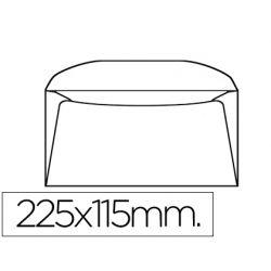SOBRE LIDERPAPEL A-2000 -BOLSA DE 10 UNIDADES 115X225 MM