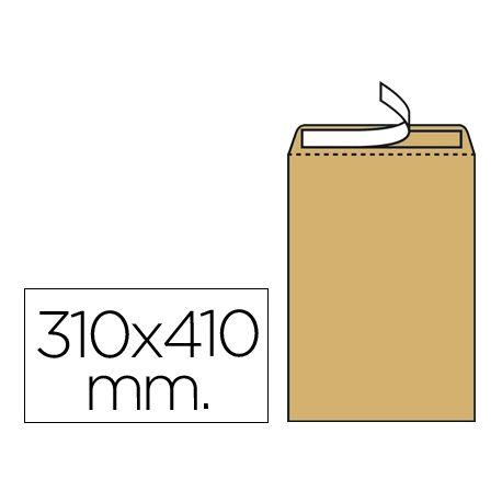 SOBRE LIDERPAPEL BOLSA N.13 KRAFT 310X410 MM TIRA DE SILICONA