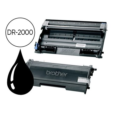 TAMBOR BROTHER DR-2000 -PARA HL-2030 2040 2070N FAX-2820 2825 2920 DCP-7010 7025 MFC-7225N 7420 7820