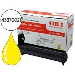 TAMBOR OKI C5850/5950 AMARILLO -20000PAG-