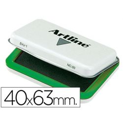 TAMPON ARTLINE N. 00 VERDE -40X63 MM