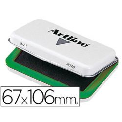 TAMPON ARTLINE N. 1 VERDE -67X106 MM