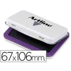 TAMPON ARTLINE N. 1 VIOLETA -67X106 MM