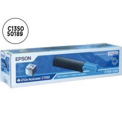 TONER EPSON ACULASER C1100 CYAN -4000 PAG-