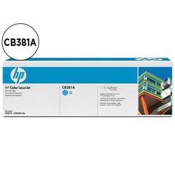 TONER HP CB381A COLOR LASERJET CP6015/CM6030/CM6040 CIAN WITH COLORSPHERE -21.000PAG- 381A