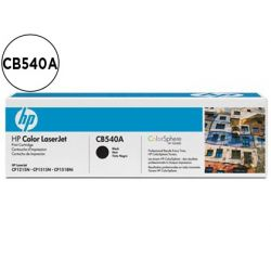 TONER HP CB540A COLOR LASERJETCP-1215/CP-1515/CP-1518 NEGRO WITH COLORSPHERE -2200PAG-
