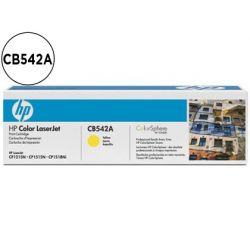 TONER HP CB542A COLOR LASERJETCP-1215/CP-1515/CP-1518 AMARILO WITH COLORSPHERE -1.400PAG-