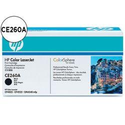 TONER HP COLOR LASERJET CP4025/CP4525 -CE260A- NEGRO 8.500 PAGS