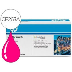 TONER HP COLOR LASERJET CP4025/CP4525 -CE263A- MAGENTA 11.000 PAGS