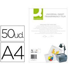 TRANSPARENCIA Q-CONNECT DIN A4DE ALTA CALIDAD KF26074 PARA INK-KET CAJA DE 50