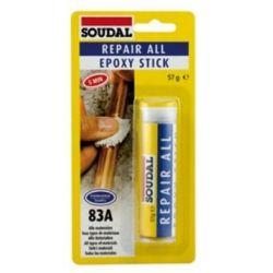 COLA SOUDAL EPOXY BARRA 2 COMPONENTES 57 G